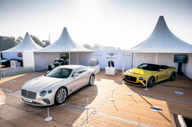 Salon Prive Bentley stand