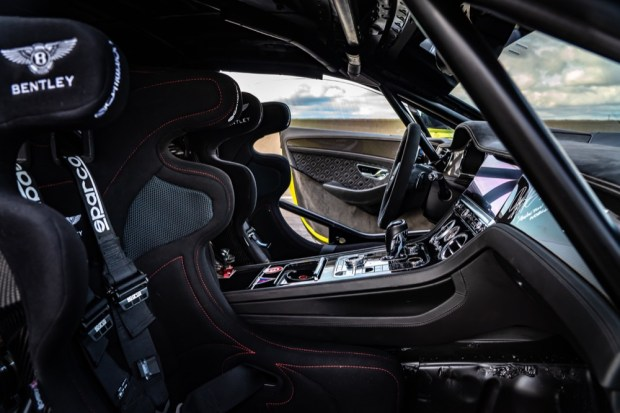 Bentley Pikes Peak interior