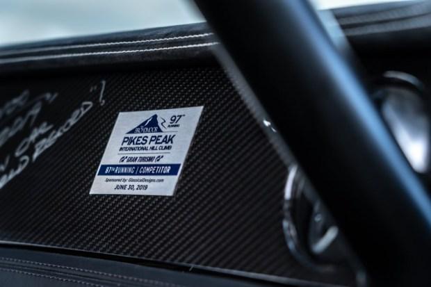 Bentley Pikes Peak sticker