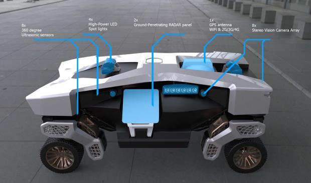 Hyundai TIGER internals