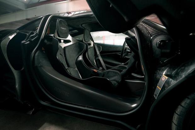 Novitec McLaren 765LT interior