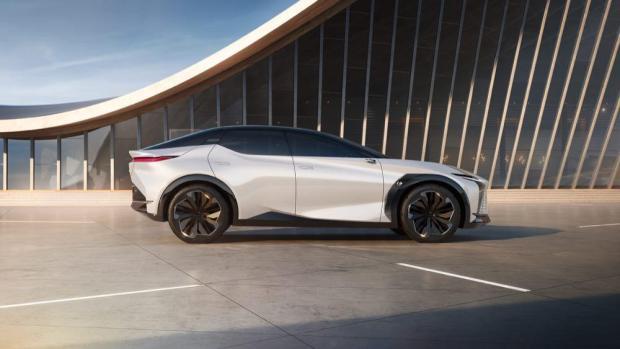 Lexus LF-Z Electrified side