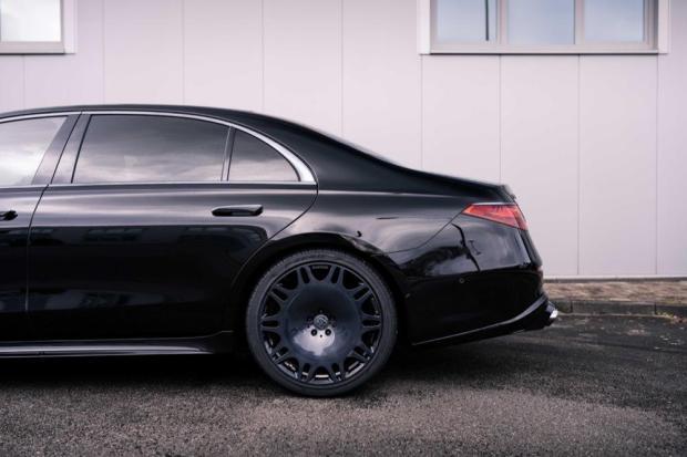 Brabus S-Class rear wheel
