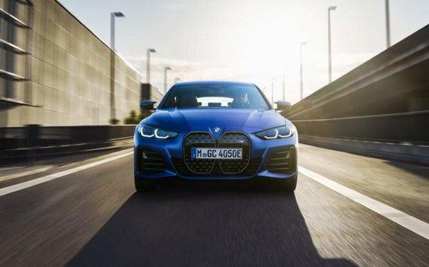 BMW i4 M50 front