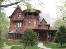 Mark Twain House in Hartford, Connecticut