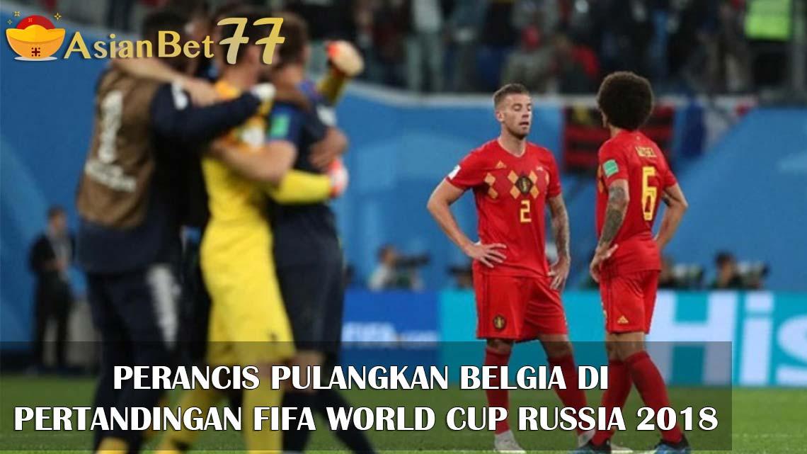 PERANCIS PULANGKAN BELGIA DI PERTANDINGAN FIFA WORLD CUP RUSSIA 2018