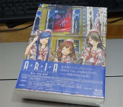 買い物:15/12/23 ARIA BD-BOX その1