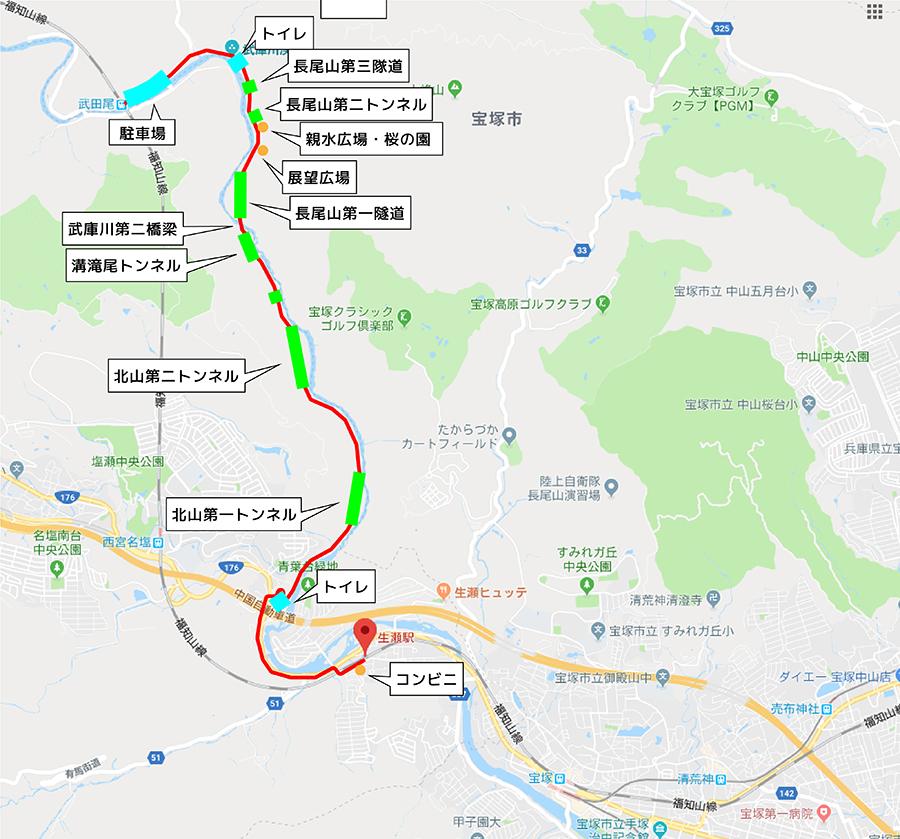 兵庫廃線ルートマップ