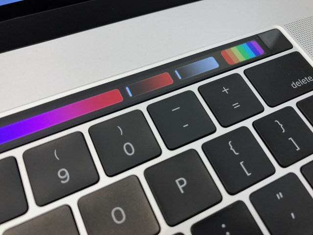 Touch ID and Touch Bar