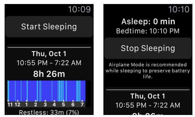 using airplane mode at night