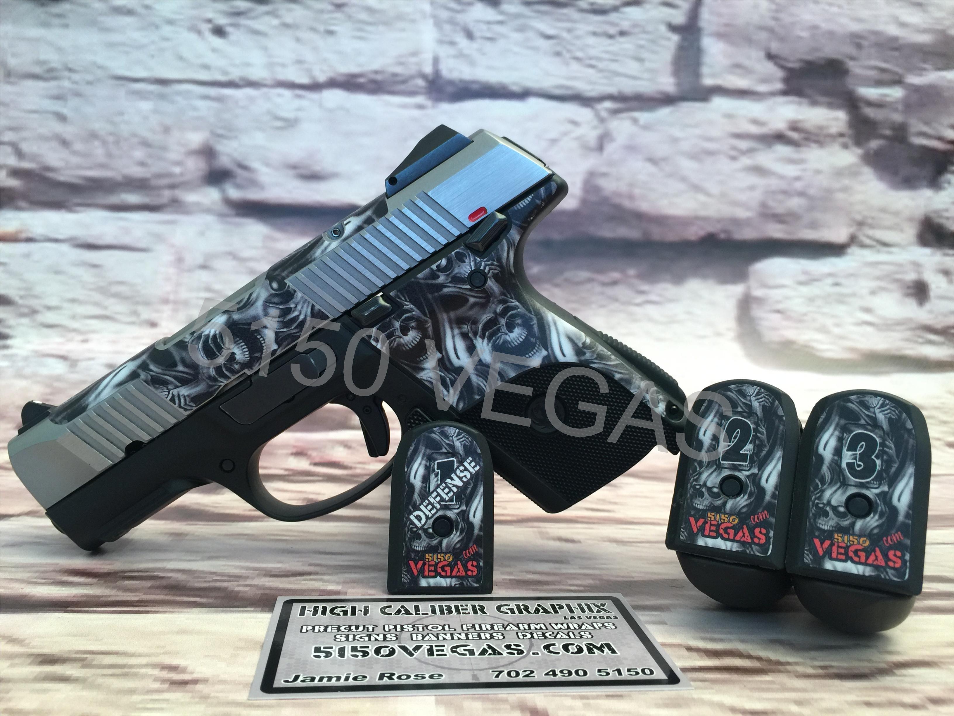 Ruger SR9C Custom Cut Gun Wrap