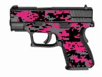 Pink and Black Digital Camo