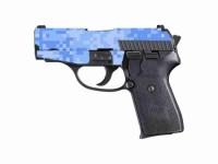 Blue Digital Camo