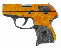 Orange Digital Camo