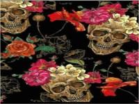 Flower Skulls