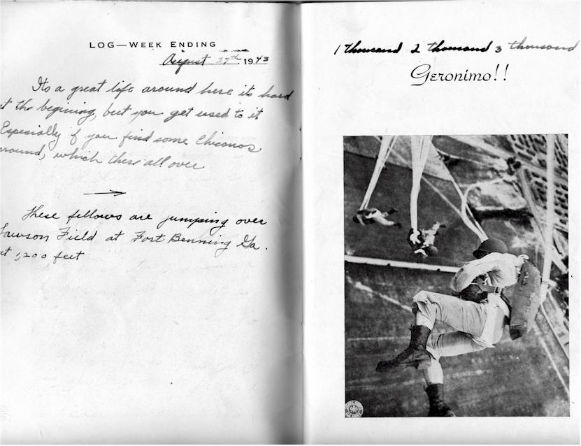 Paratrooper Training  Fort Benning 1943
