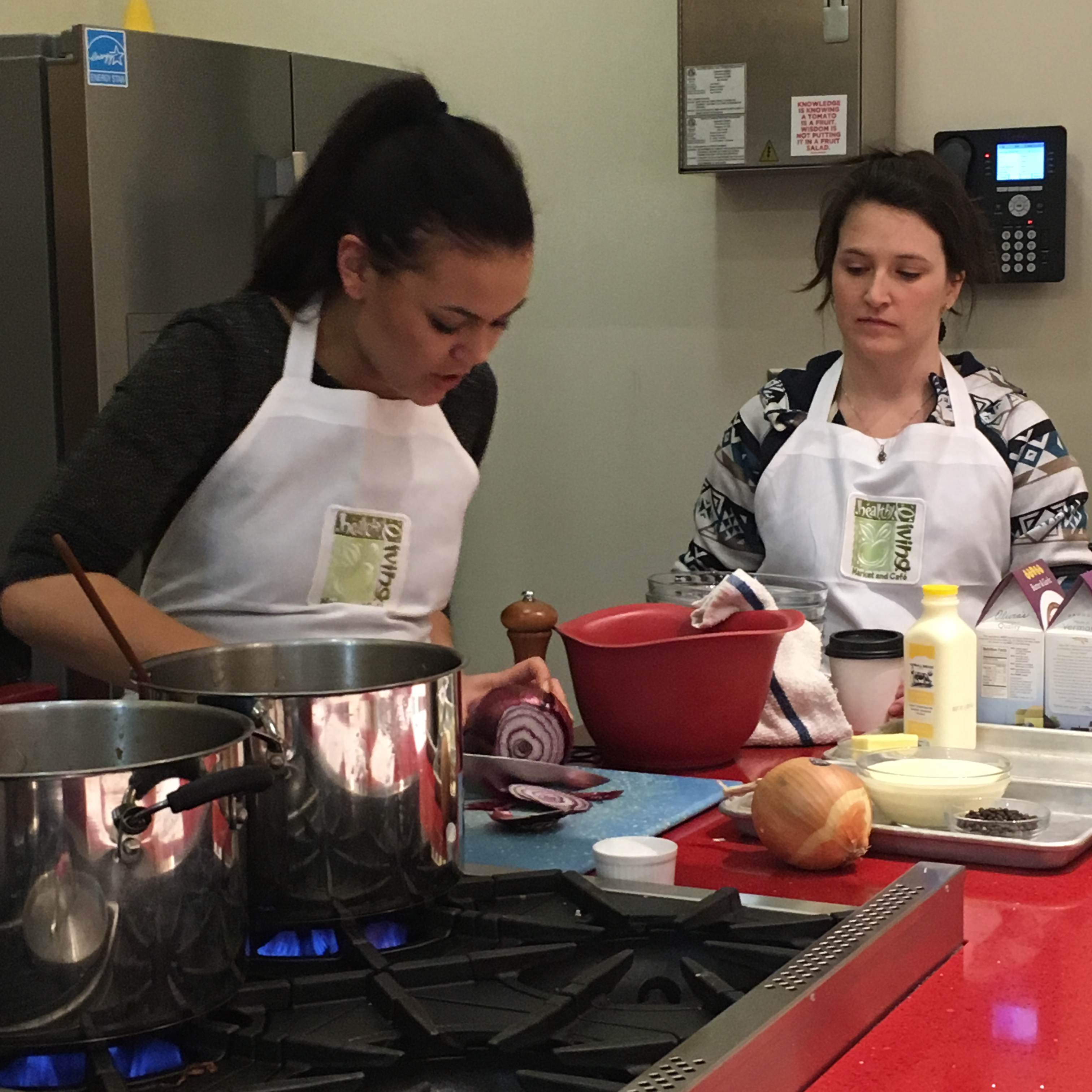 Healthy Living Market & Cafe Cooking Class [PHOTOS]