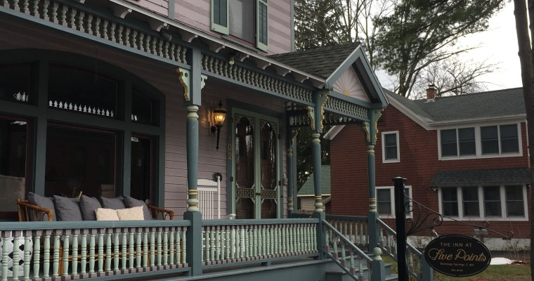 The Inn at Five Points: Bed & Breakfast in Downtown Saratoga