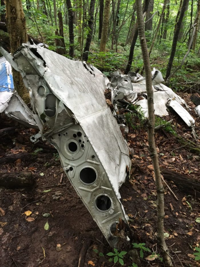 Abandoned Plane Crash Hike in the Catskills [PHOTO]