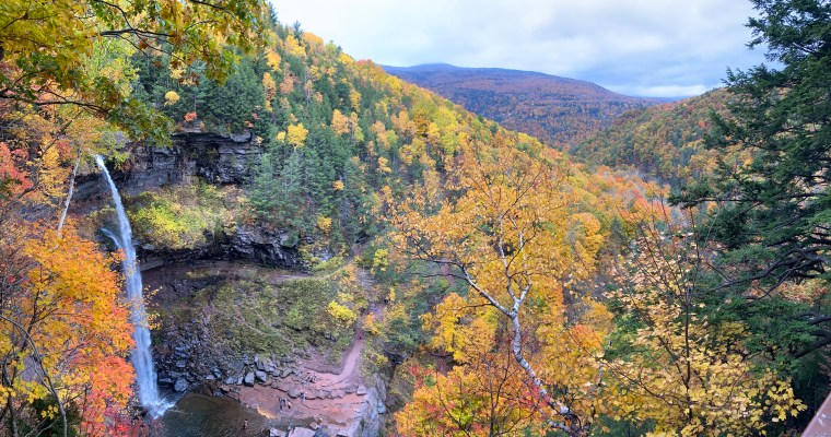 Kaaterskill Falls, Hunter