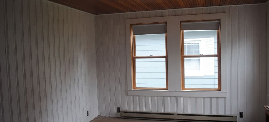 How to paint over Wood and Vinyl paneling WITHOUT SANDING!