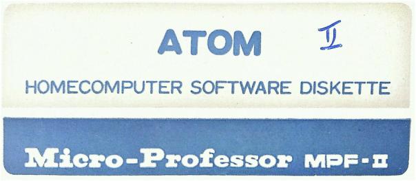 etiqueta MPF-II ATOM