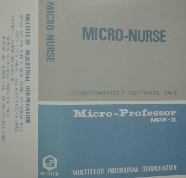 Carátula Micro Nurse