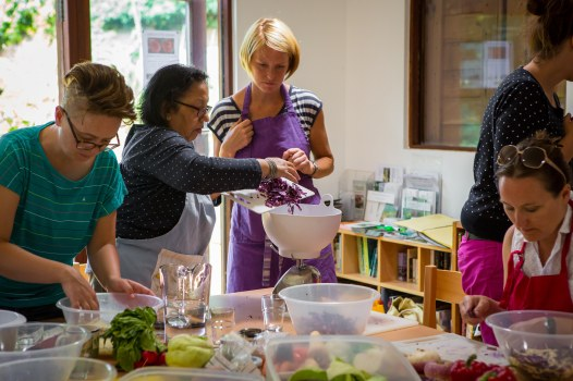 Plot 51 KHWG Natural pickling and fermentation class