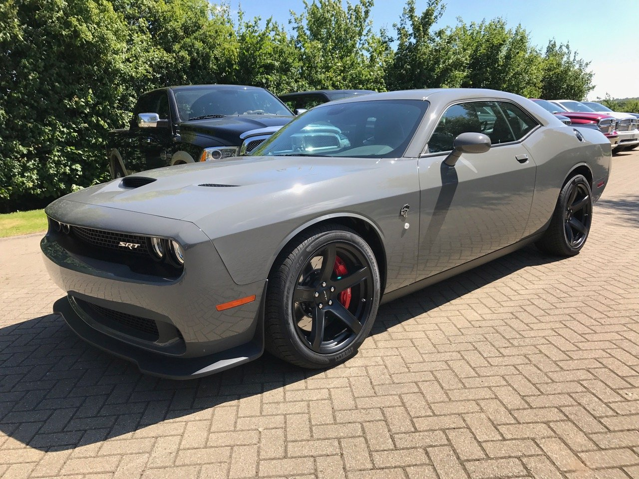 Dodge Challenger Demon >> 2017 Dodge Challenger Hellcat - Destroyer Grey! - 51st State Autos