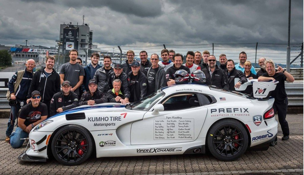 2017 Dodge Viper sets new Nurburgring record - 51st State Autos