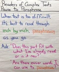 Pause to Paraphrase