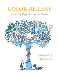 Cover for Color-Re-Leaf Art Therapy Book