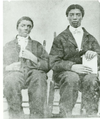 George Washing Carver and his brother James Carver