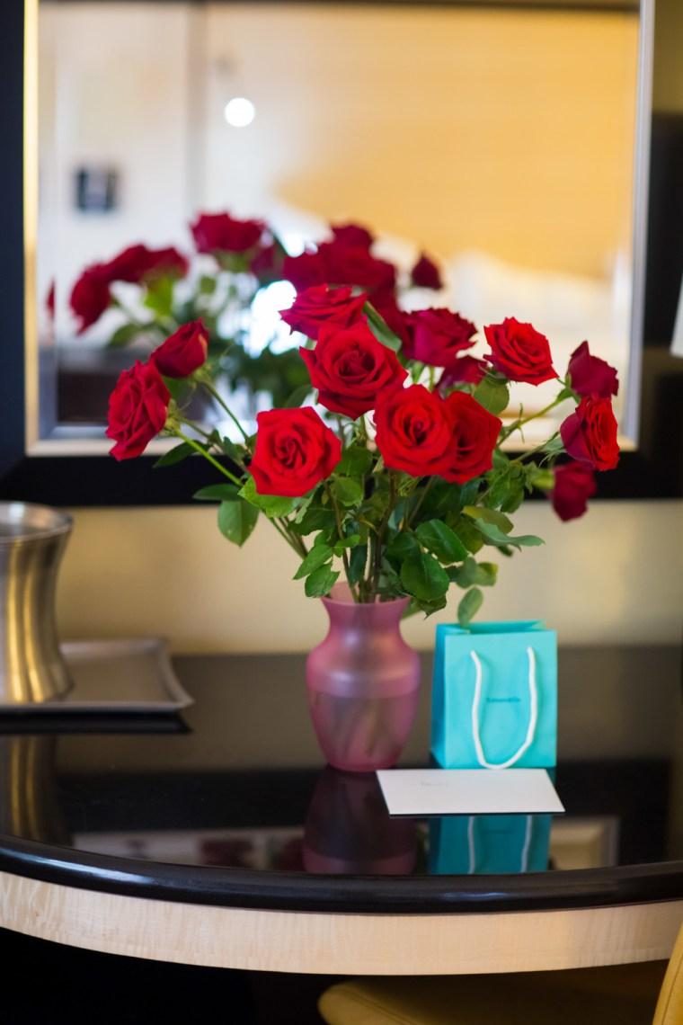 Roses - popular wedding flower example