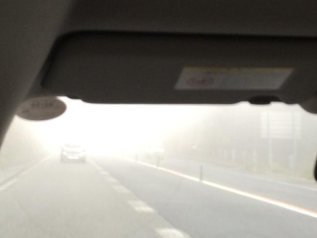 Kabut di Jalan