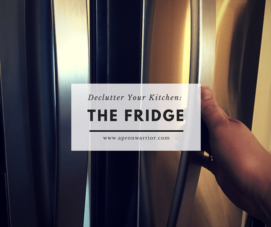 Declutter Your Kitchen: The Fridge