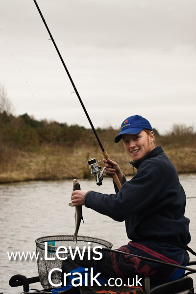 Dan Webb fishing