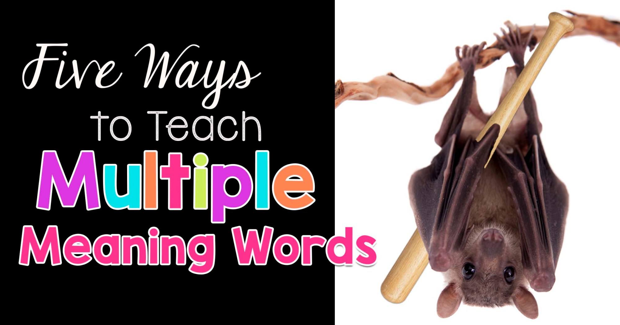 hight resolution of Five Ways to Teach Multiple Meaning Words - The Candy Class