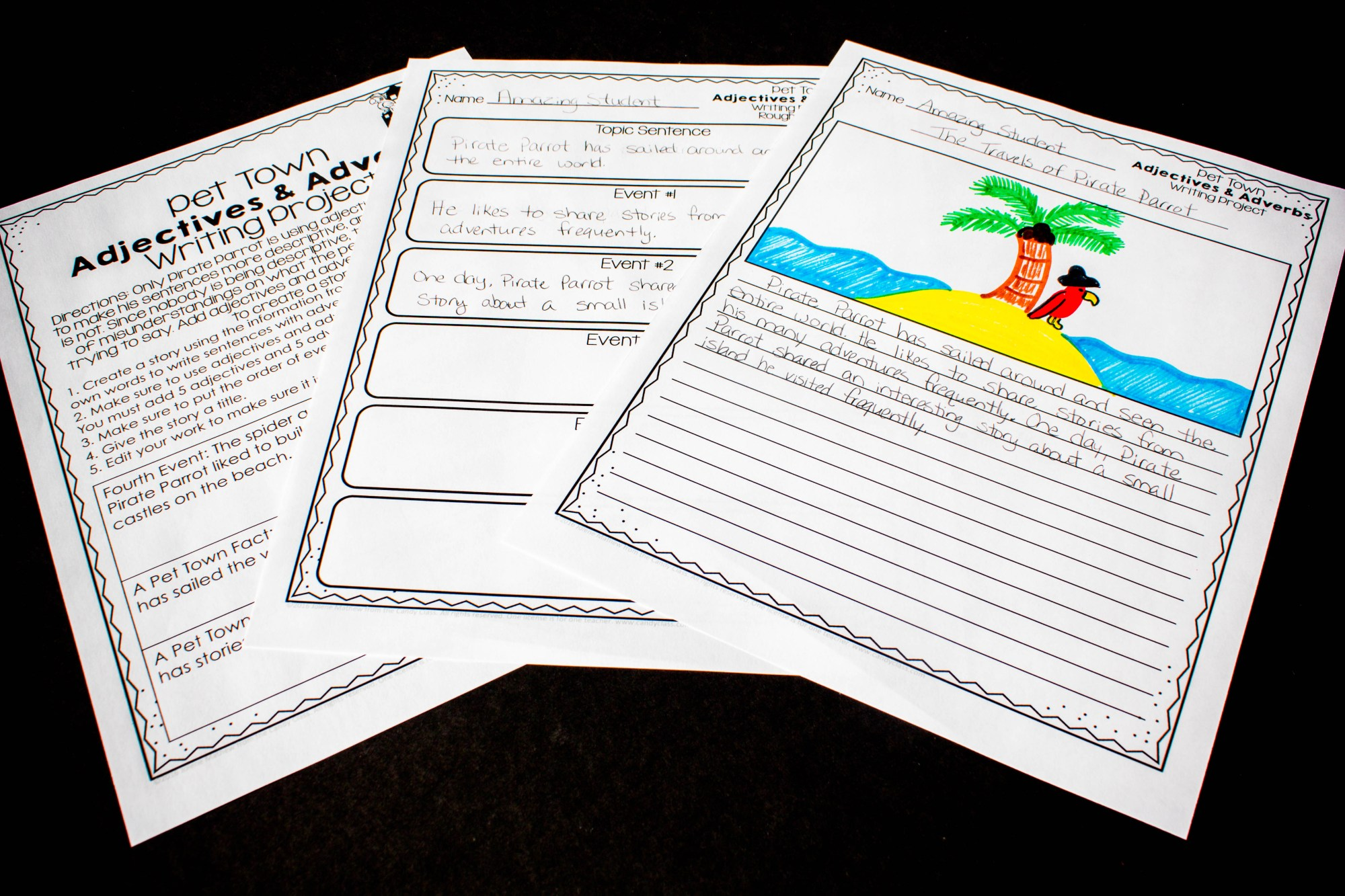 hight resolution of Adverbs Mini-Lesson \u0026 Activity Ideas - The Candy Class
