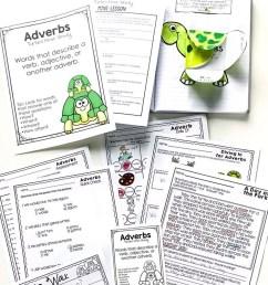 Adverbs Mini-Lesson \u0026 Activity Ideas - The Candy Class [ 1410 x 700 Pixel ]