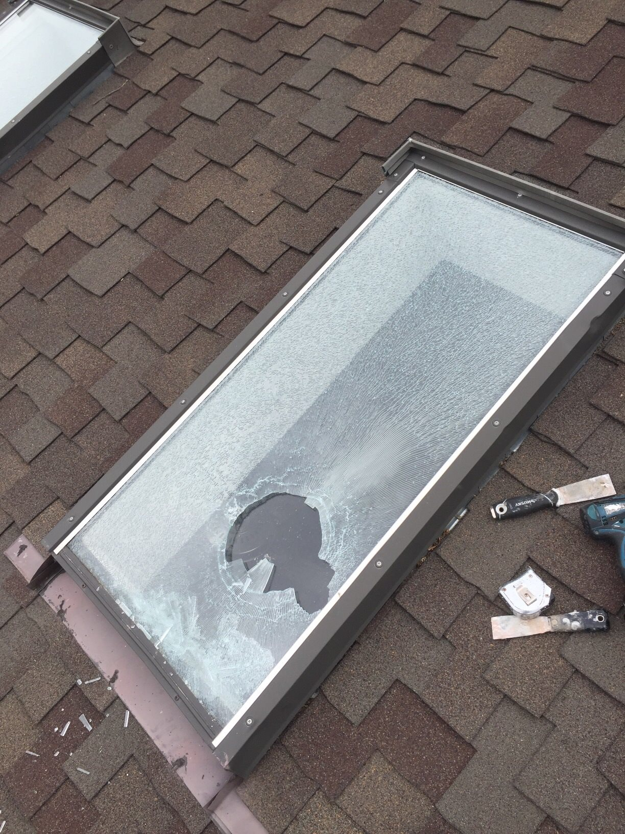 Flat Panel Skylights  5280 Window Repairs Denvers Broken