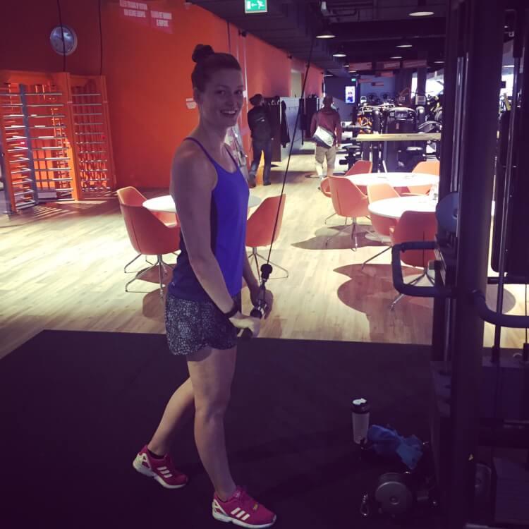 Nieuwe gym