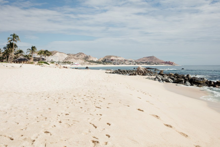 Beach at the Hilton Los Cabos Beach & Golf Resort