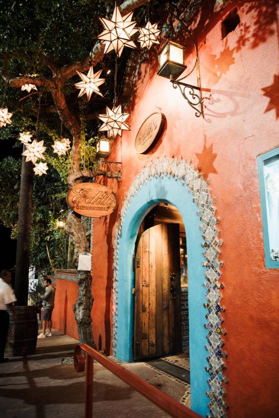 Edith's restaurant Cabo