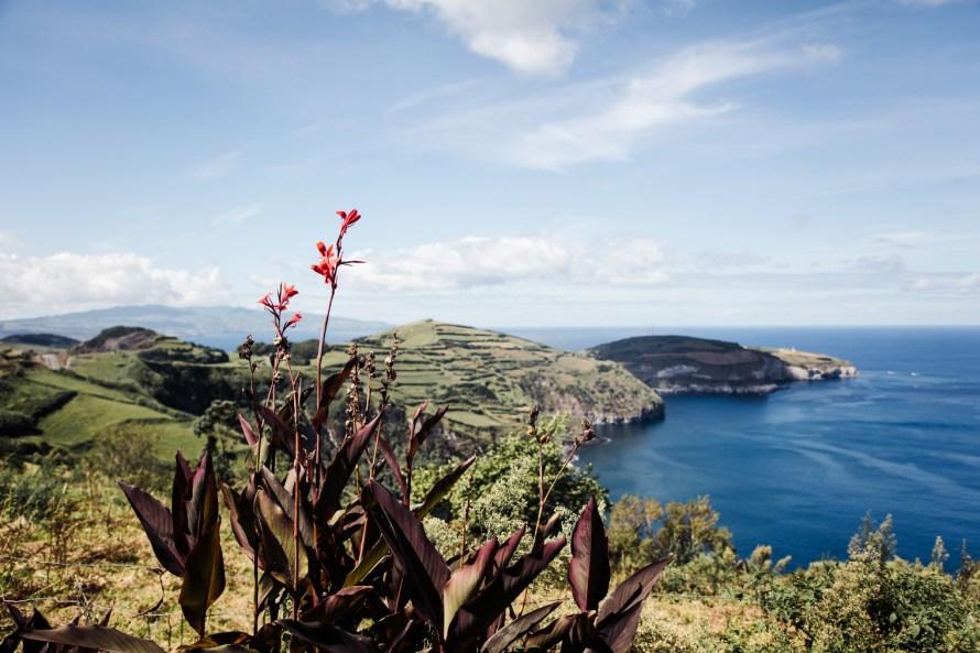Coastal view Sao Miguel Azores Islands