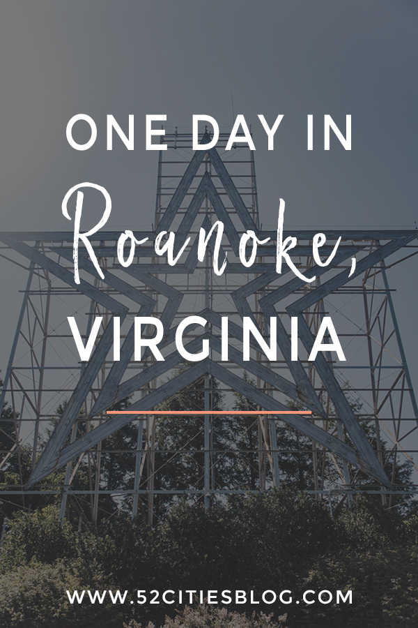 One day in Roanoke, Virginia