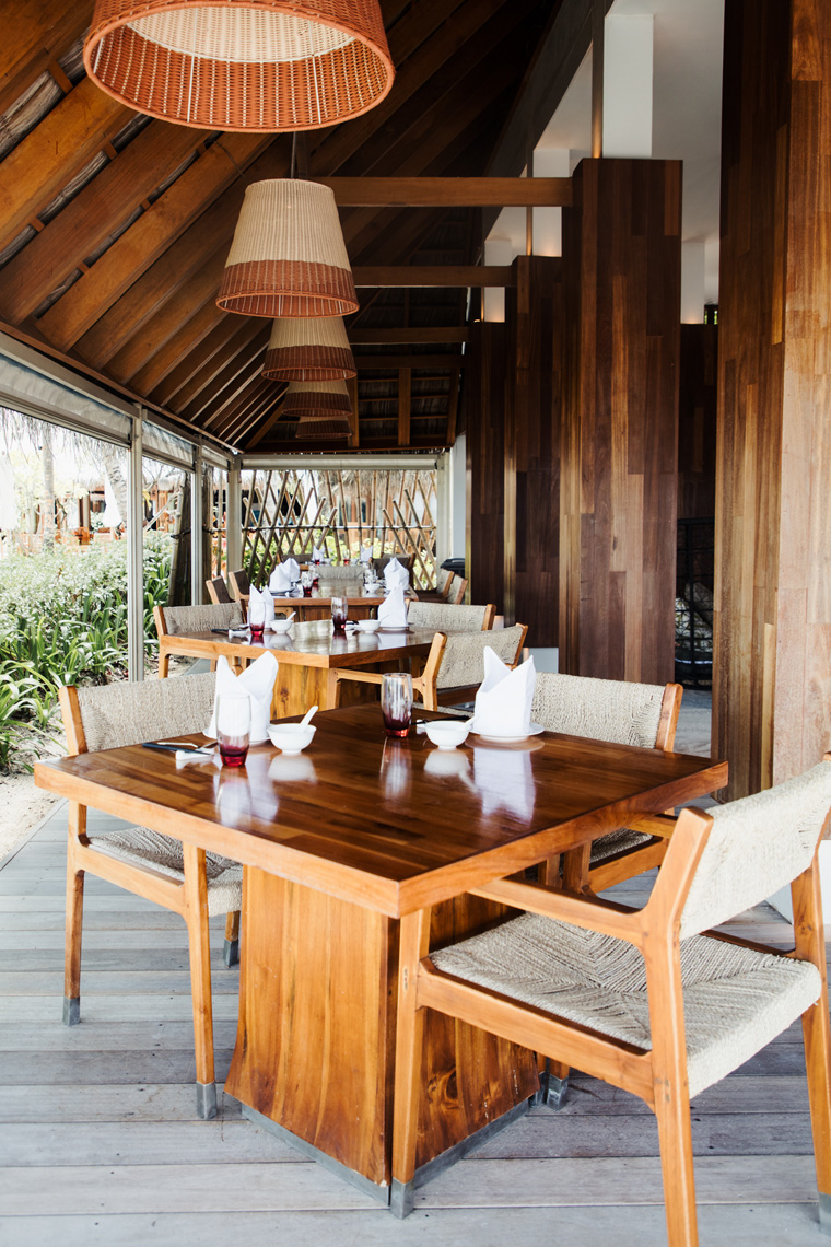 Ufaa Chinese restaurant at the Conrad Maldives
