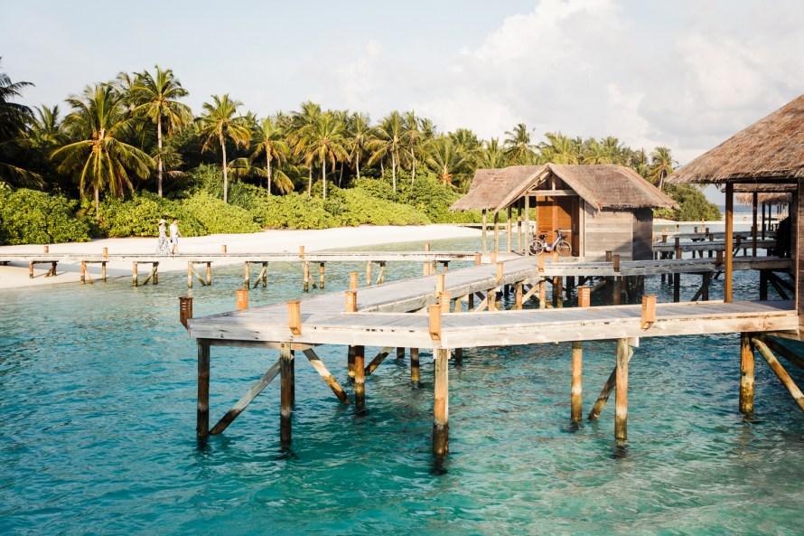 Overwater bungalow Conrad Maldives