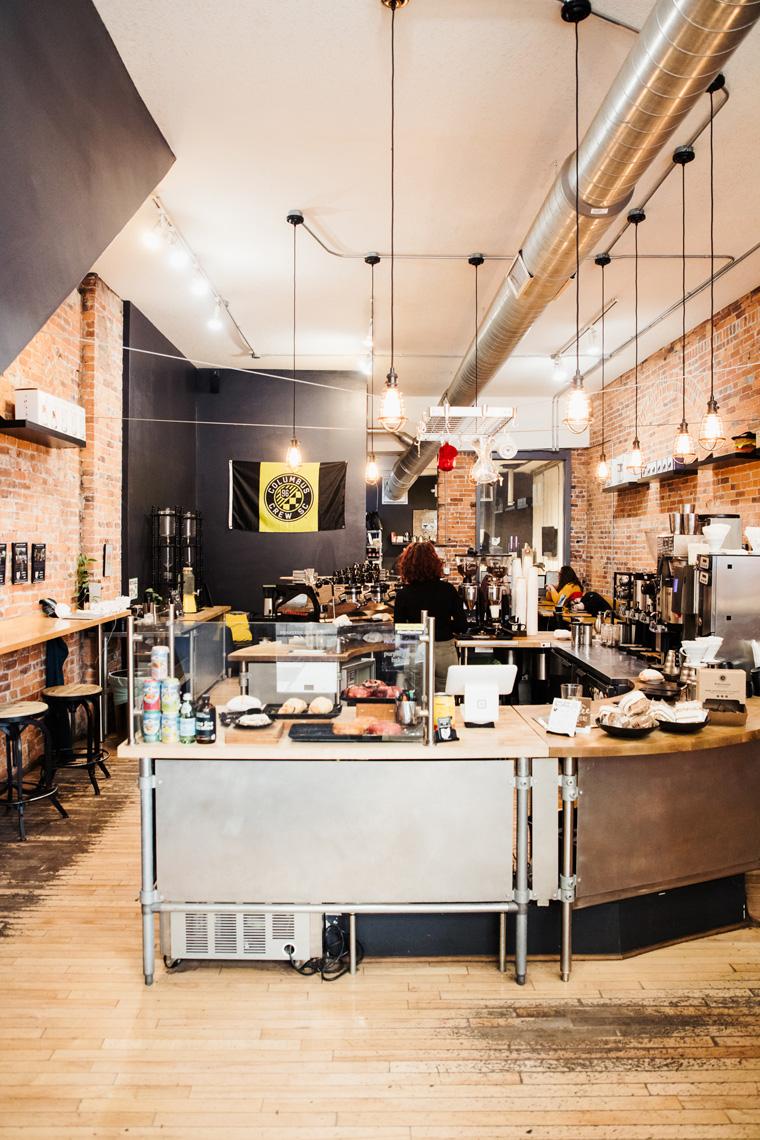 One Line Coffee interior