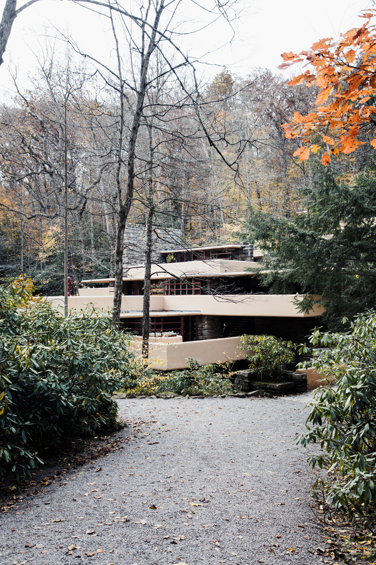 Frank Lloyd Wright Fallingwater house
